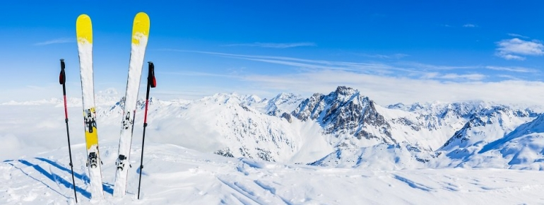 Satellites for sports: ski from the skies above