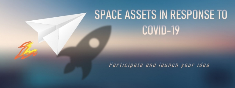 Call for space assets in response to COVID-19
