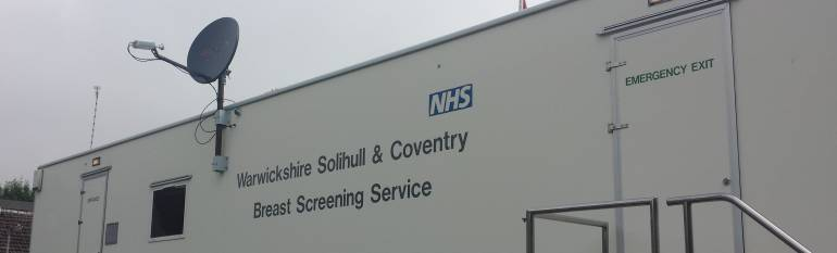 University Hospital Coventry and Warwickshire: putting satellite communication to use in public health