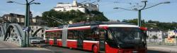 Salzburg AG – improved trolleybus fleet management through SatNav