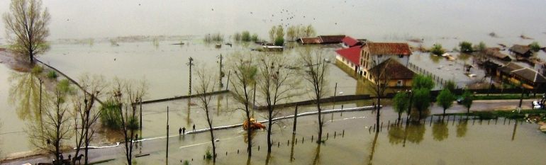 Danube River Basin: Flood risk maps for an integrated mitigation