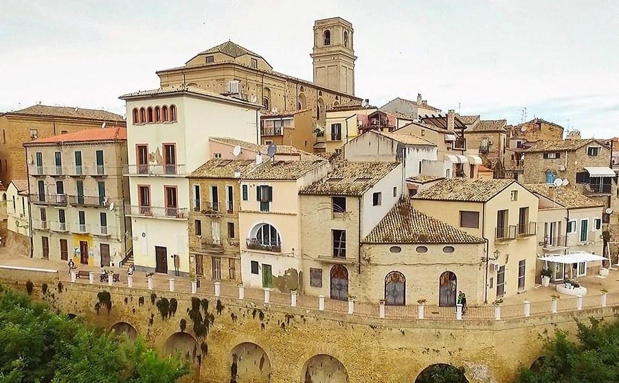 City of Vasto: relying on SatNav to enhance mobility