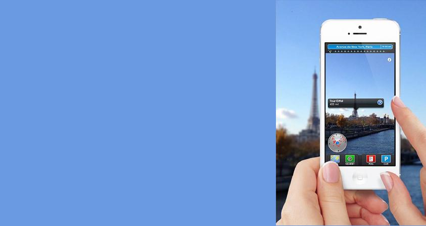 GeoTravel: a 3D AR satnav travel app