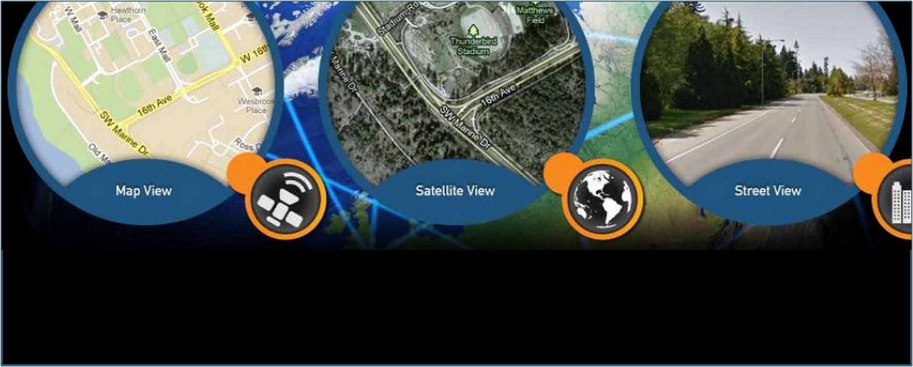 Simulating outdoor training conditions with satnav