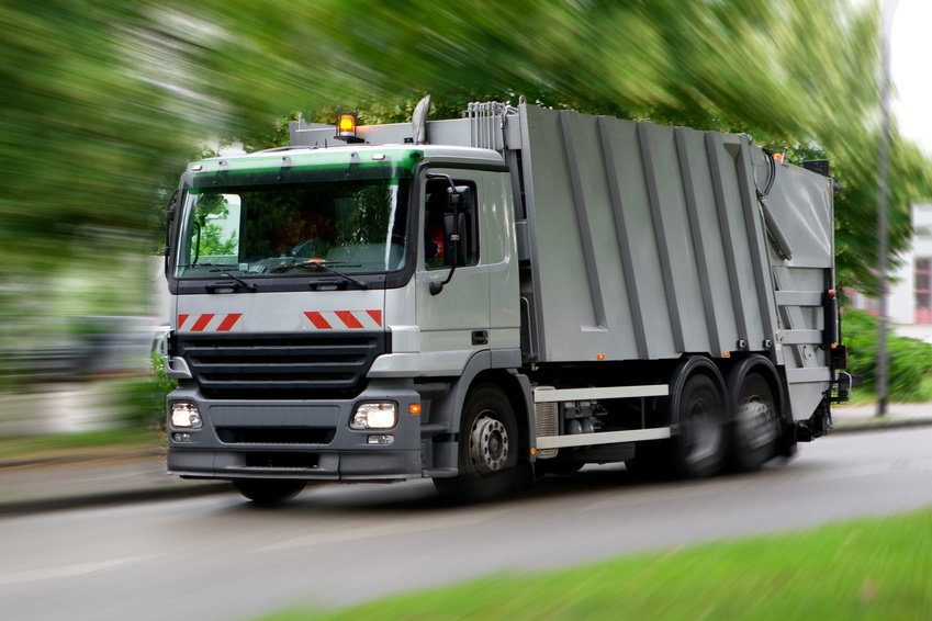 Exeter: a bin collection service relying on satnav