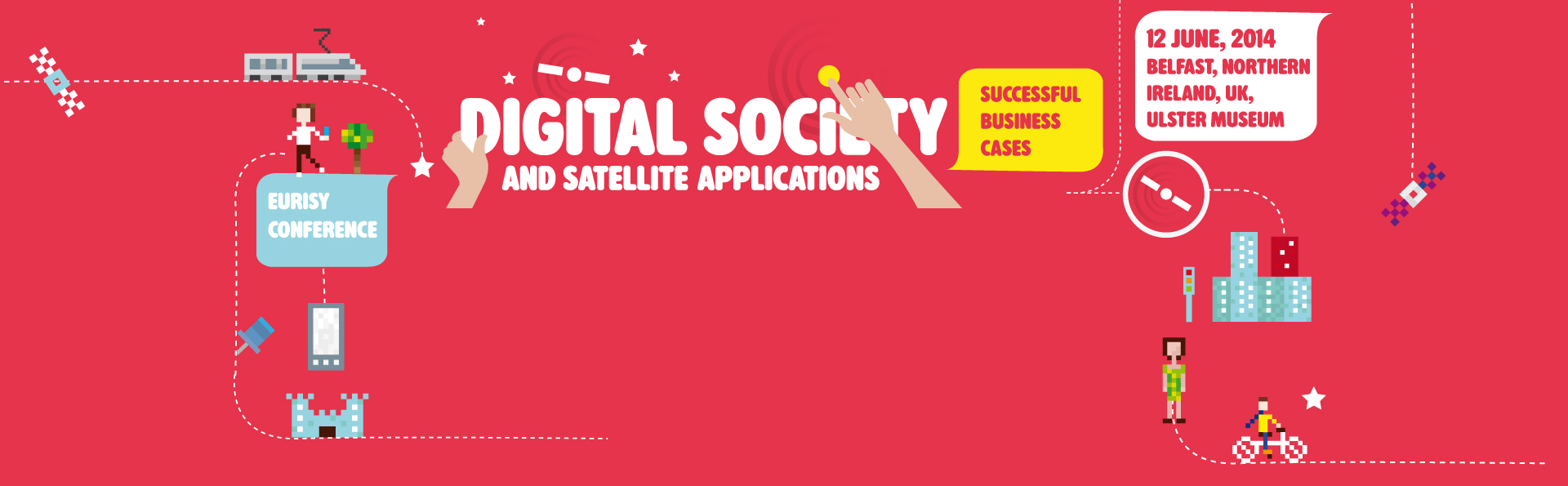 Digital society and satellite applications: successful business cases