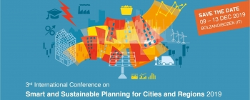 """3rd International Conference on """"Smart and Sustainable Planning for Cities and Regions – SSPCR 2019"""""""