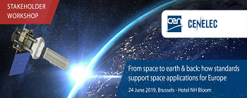 From space to Earth and back: how standards support space applications for Europe