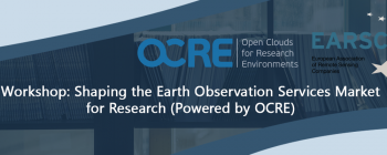 Workshop: Shaping the Earth Observation Services Market for Research (Powered by OCRE)