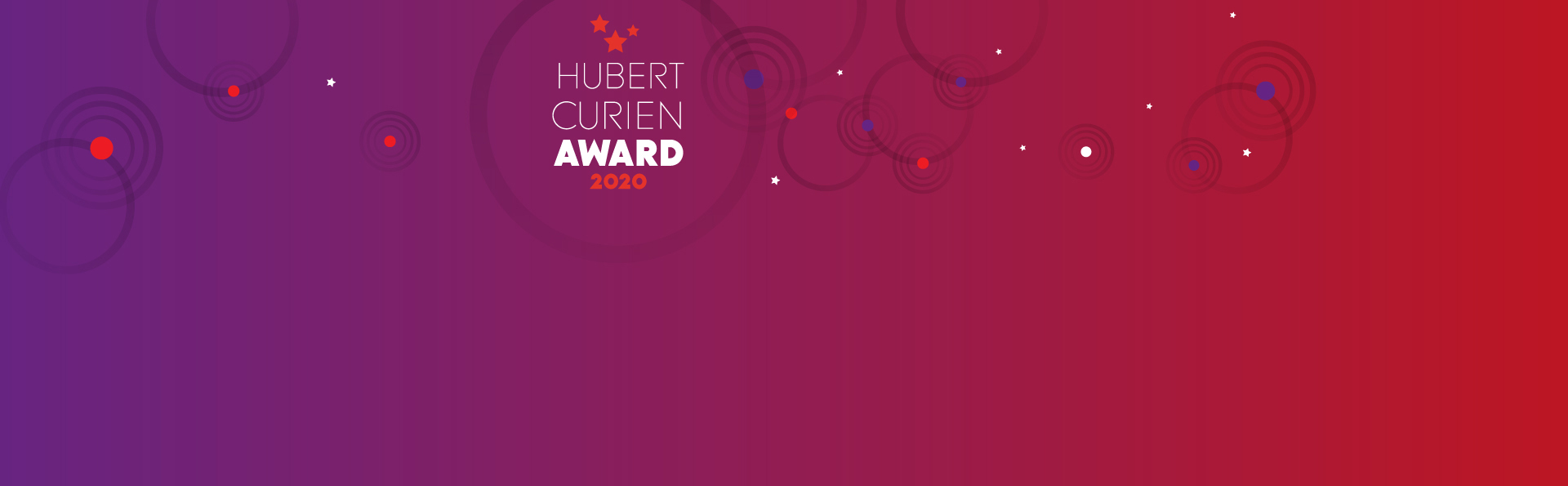 The Hubert Curien Award 2020