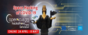 Copernicus Hackathon Sofia: Space Hacking of COVID-19