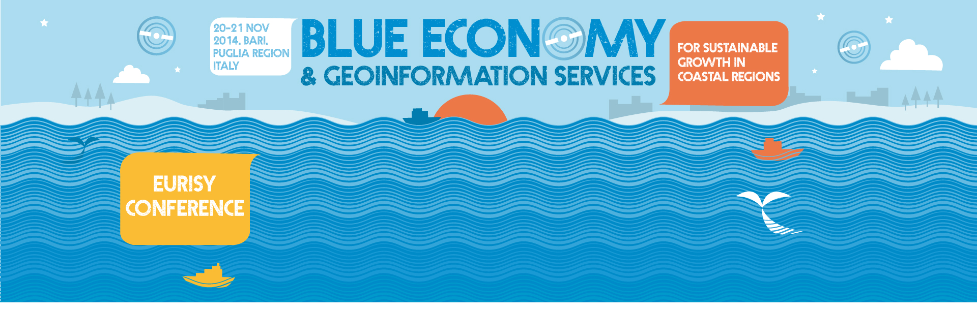 Blue Economy and geoinformation services for sustainable growth in coastal regions