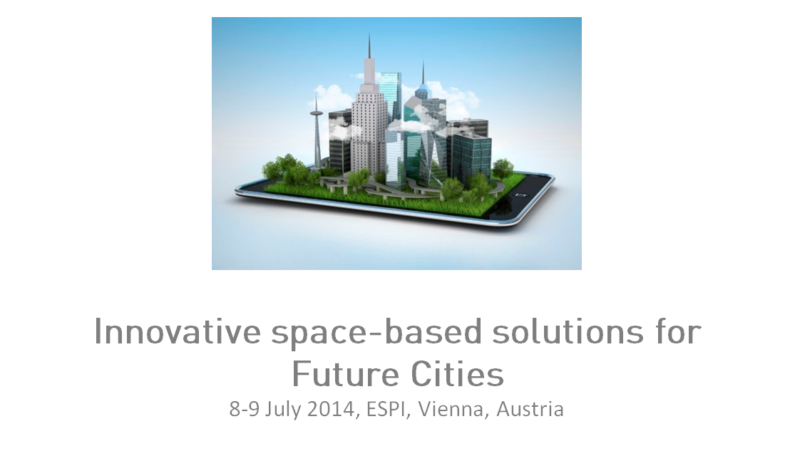Innovative space-based solutions for Future Cities