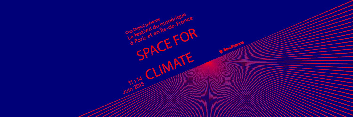 Futur en Seine 2015 - Space for Climate stand