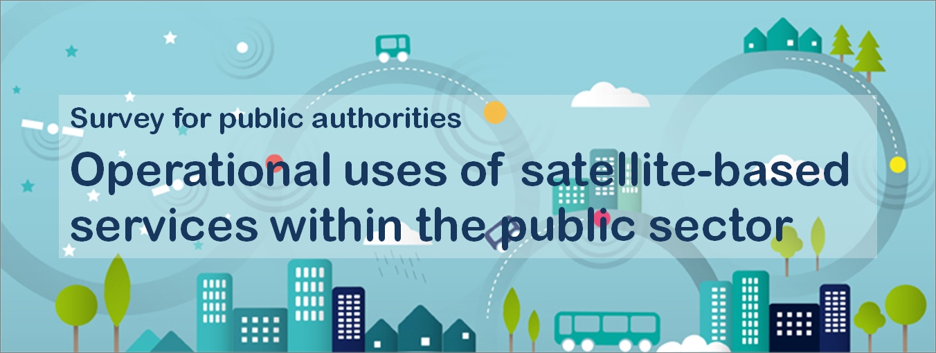 Survey: Operational uses of satellite-based services within the public sector