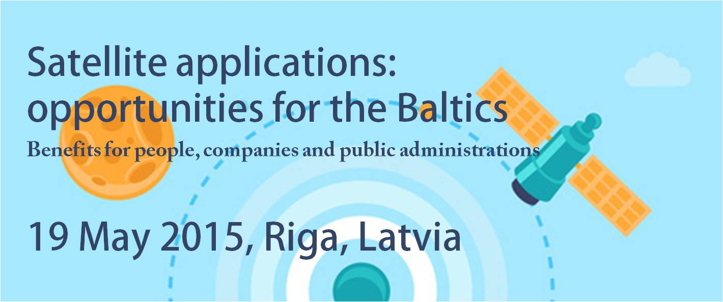 Satellite applications: benefits for the Baltics