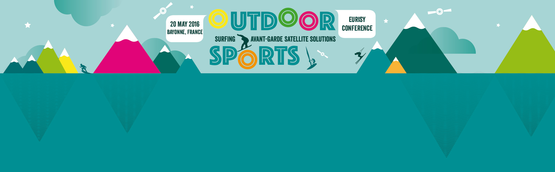Outdoor sports: surfing avant-garde satellite solutions