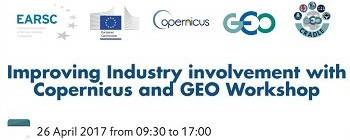 Improving industry involvement with Copernicus & GEO workshop