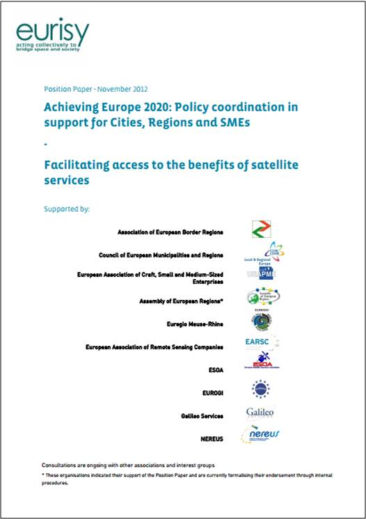 Achieving Europe 2020: Policy coordination in support for Cities, Regions and SMEs